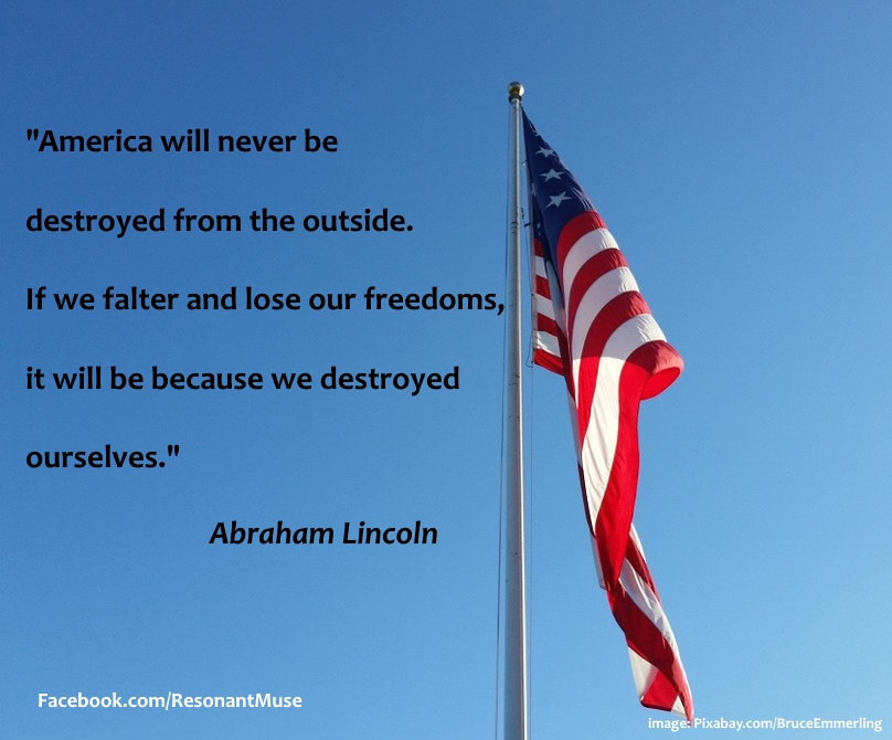 America - Freedoms - Lincoln