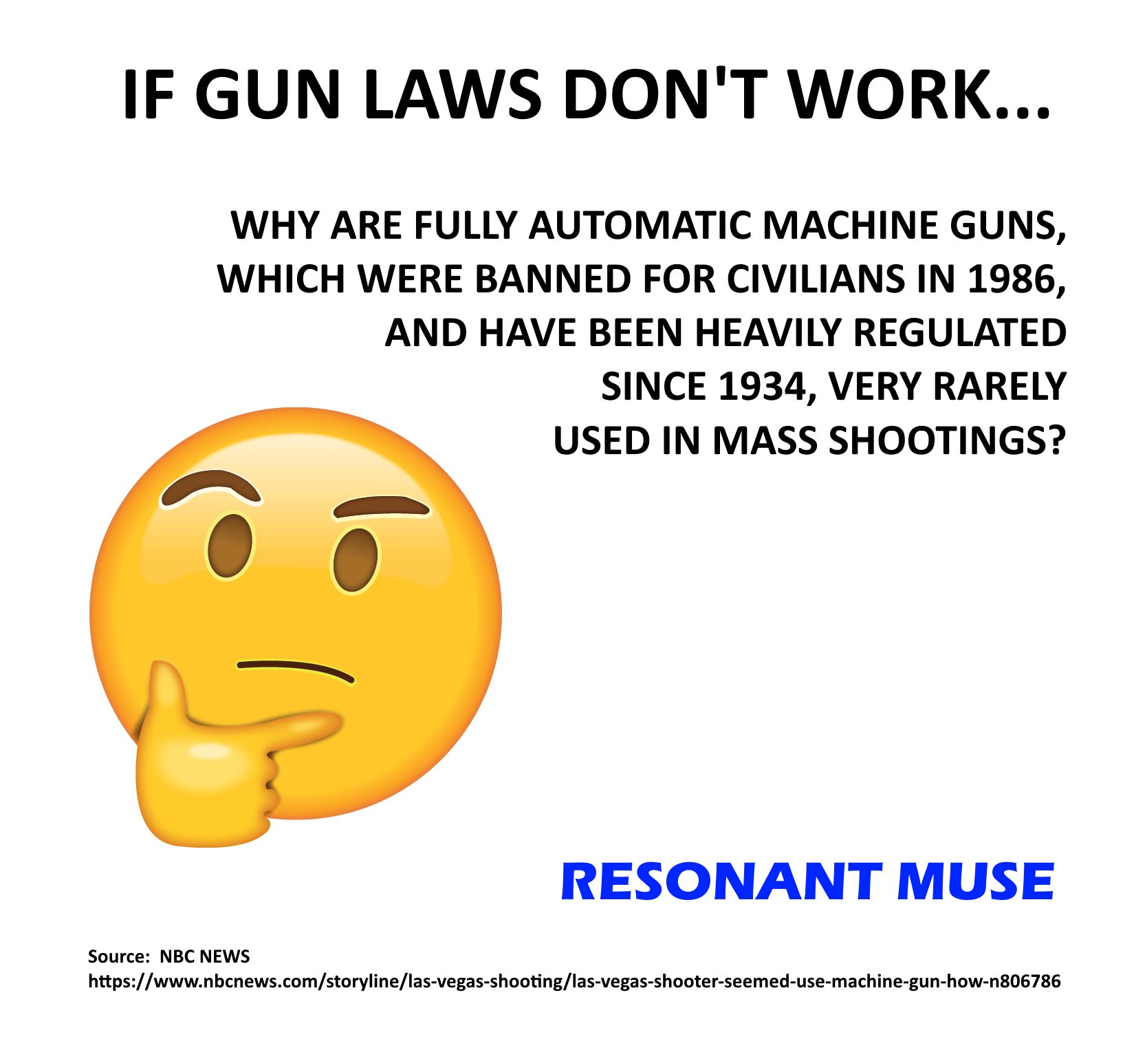 A Simple Question For Gun Rights Advocates   Resonant Muse